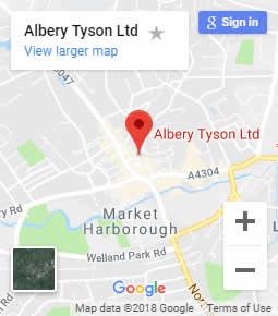 Albery Tyson Map